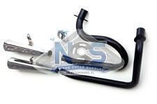 Honda VT500 Ascot 83-84 2-Into-2 Black/Chrome Megaphone Exhaust System
