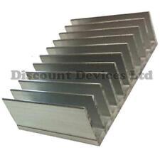 Dissipatore di calore in alluminio 80x124x35mm amplificatore di potenza/fornitura/TRANSISTOR/IC/FET/Pa