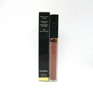 Chanel Rouge Coco Gloss Moisturizing Glossimer ~ 722 Noce Moscata ~ 5.5 g /BNIB