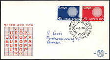Netherlands 1970 Europa FDC First Day Cover #C27440