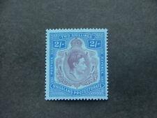 Nyasaland KGVI 1938 2/- purple & blue on blue SG139 UM/MNH