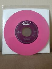 BEATLES - TWIST AND SHOUT/THERE'S A PLACE - PINK COLOR VINYL- 45 JUKEBOX MINT