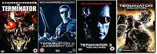 TERMINATOR Anthology Quadrilogy Complete DVD Collection All Movies Part 1+2+3+4