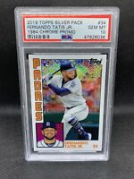 2019 Topps Chrome Silver Pack 1984 Fernando Tatis Jr. PSA 10 Gem Mint Rookie