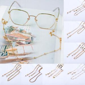 Brillen Kette Sonnenbrillen Perlen Brille Kettenhalter Brillen Seil Halskette