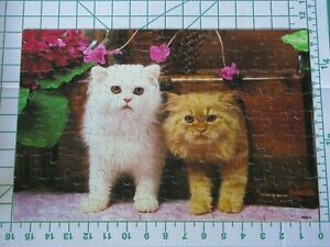 Kitty Cats 100 piece jigsaw puzzle 11x16 Complete