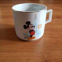 Walt Disney World Disneyland Mickey Mouse Coffee Tea Cup Mug Japan