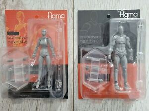 NEW FIGMA Archetype Action Figure 03 [he] & [she] Grey Variant Figures UK Based