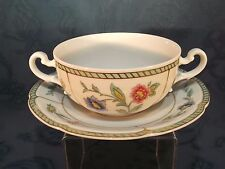 Villeroy & Boch Heinrich Indian Summer Handled Soup Coup / Bowl and Saucer