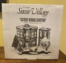 New ListingSaturday Morning Downtown - Department 56 - The Original Snow Village