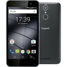 GIGASET GS160 BLACK ANDROID DUAL-SIM SMARTPHONE HANDY OHNE VERTRAG LTE/4G WiFi