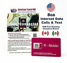 T Mobile Prefunded Sim 45 or 55 Plan