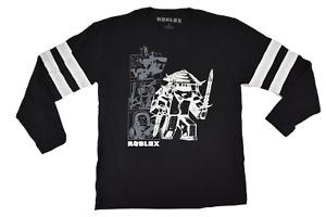 Roblox Youth Boys Glow In The Dark Ink Black Shirt New XS, S, M, L, XL