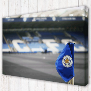 LEICESTER CITY King Power Stadium LCFC | Canvas Print Wall Art Photo | 5 Sizes