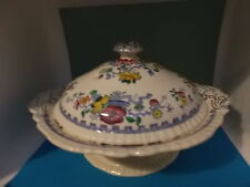 rare antique masons ironstone footed tureen (pat 5101) similar to nabob