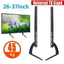 "Table Top Pedestal TV Stand Riser for 26-37"" inch 3D LCD LED Plasma Flat Screen"