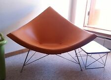 Herman Miller George Nelson Vintage Original Coconut Chair Eames Orange