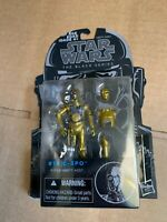 "Star Wars C-3PO #16 PROTOCOL DROID 2015 Black Series 3.75"" Action Figure"