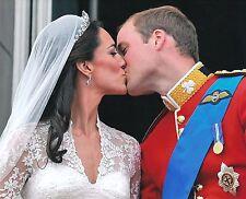 Prince William Duke Of Cambridge & Kate Middleton 8x10 Glossy Wedding Photo (A)