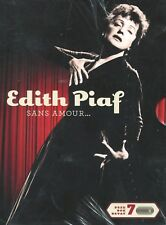 Edith Piaf : Sans amour ... (2 DVD + 5 CD)