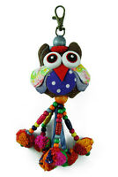 Keyring Owl With Beads