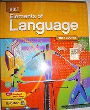 Elements of Language Alabama Student Ed 1st Course Grade 7 2009 9780554019635