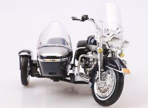 Maisto Modèle Réduit de Moto Harley Davidson 2001 FLHRC ROAD KING SIDECAR 1/18