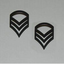 1 paire US ARMY grade de Sergent mat Navy Marines USMC M41 WKII WW2