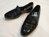 MEZLAN MIRAGE BLACK PATENT LEATHER TUXIDO FORMAL LOAFERS SIZE 11M MADE IN SPAIN