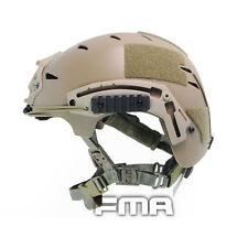 Outdoor FMA Fast Helmet Tactical Hunting CS sSkydiving EXF BUMP helmet TB742 DE