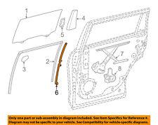 Toyota Oem 14-18 Highlander Glass-Rear Door-Division Bar Right 674070E050