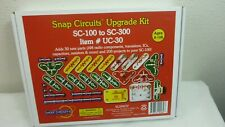 SNAP CIRCUITS UPGRADE KIT   UC-30  SC-100 TO SC-300 KIT NEW SEALED