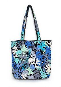 Vera Bradley Camo Floral Shoulder Bag Quilted Fabric Purse