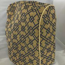 Kitchenaid Tilt Head Blue Geometric Burlap Cover