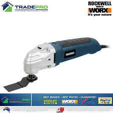 Rockwell 300w Oscillating Multi Tool Kit With 6 Accessories RD5517