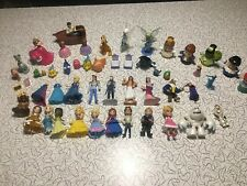 Huge Disney Princess MAGIC CLIP DOLLS LITTLE PEOPLE CAKE TOPPERS PRINCE LOT