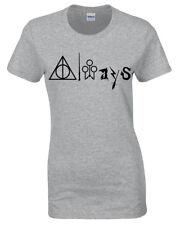Siempre Símbolos Camiseta Harry Inspirado Potter Regalo Mujer