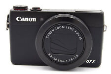 Canon PowerShot G7X G7 X 20.2MP Digital Camera - Black