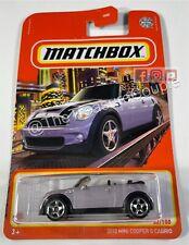 Matchbox 2021 - SINGLES - 2010 Mini Cooper Cabrio - #52/100 - S29
