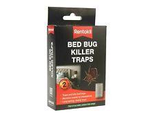 RENTOKIL Lit Bug Parasite Killer Pièges Chambre Insectes Contrôle BB01- Pack