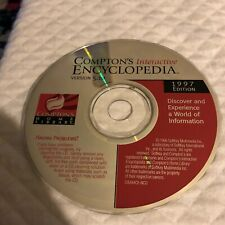 The Learning Company Compton's Interactive Encyclopedia 98