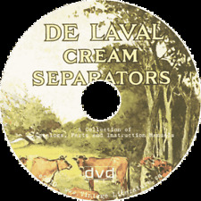 DeLaval Cream Seperator Vintage Catalogs & Manuals on DVD