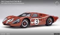 Exoto '67 Ford GT40 Mk IV LeMans 24hrs. Andretti/Bianchi RLG18052, NIB 1:18 RET.