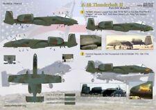 Print Scale 1/48 Fairchild A-10 Thunderbolt II Part 2 # 48073