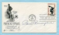 PAUL RUNYAN signed 1965 Sports cover (Masters, Golf, FDC, Little Poison)