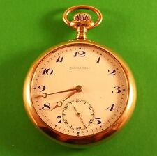 Antique Omega Swiss Pocket Watch Made For Connor Bros. 15 Jewels S/N 5225755