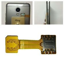 1Pc Nano SIM Card to Nano SIM Male to Female Extension Soft Flat FPC Cable New