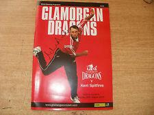 Signed(Adrian Dale)Cricket Prog-Kent V Glam 2004
