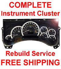 HUMMER H2 Speedometer Instrument Cluster Gauge and Display REPAIR