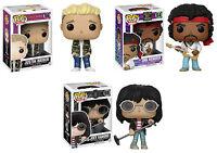 Funko POP! Rocks ~ JUSTIN BIEBER, JIMI HENDRIX & JOEY RAMONE ~ Music Rock Stars